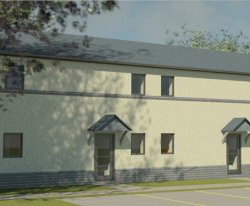 Passivhaus design for Powys County Council by Hughes Architects