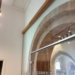 Conservation architectural design at Meifod Church, Powys, by Hughes Architects