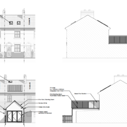 Hughes Architects Low Carbon house extension Shrewsbury